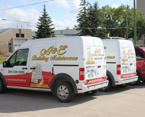 Company Service cars in Winnipeg Canada