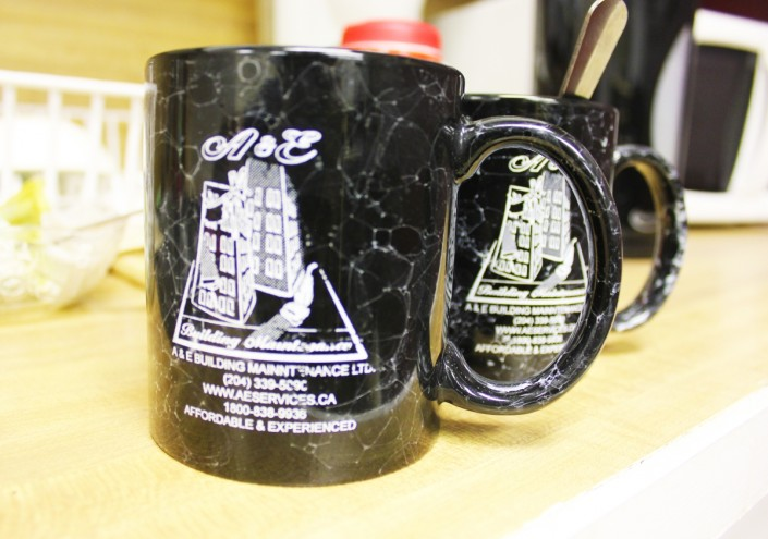 A&E Company Coffee cups